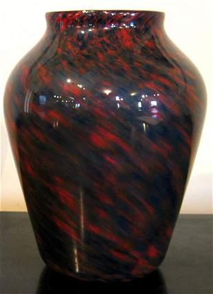 A Monart shouldered vase,