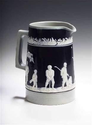 A 19th century Copeland late Spode golfing jug,