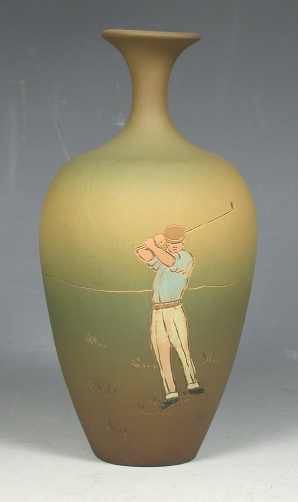 11: An early 20th century Weller 'Dickensware' pottery