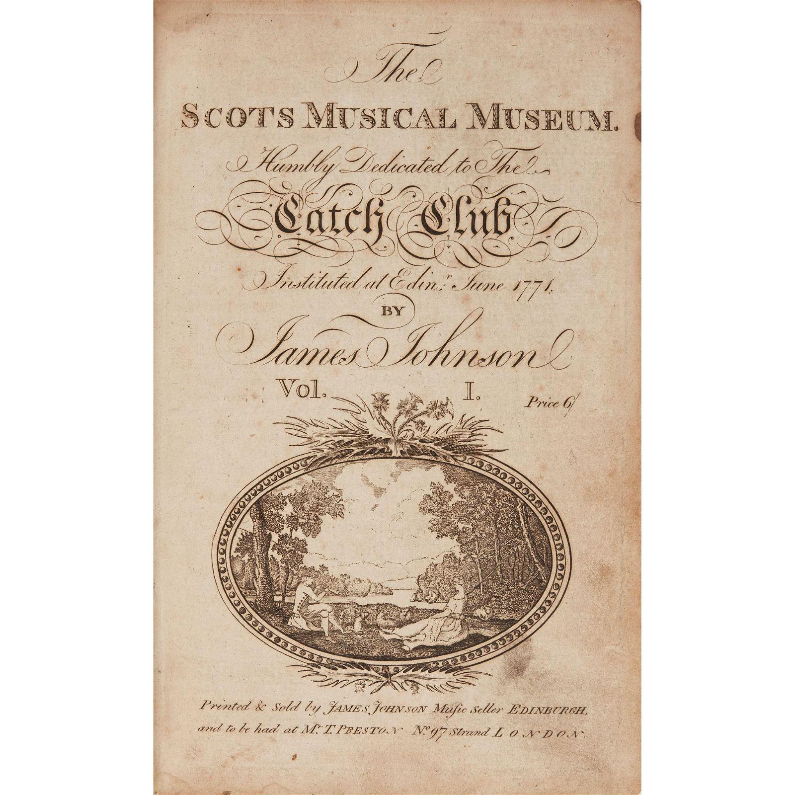 Johnson, James - Robert Burns, contributor  The Scots