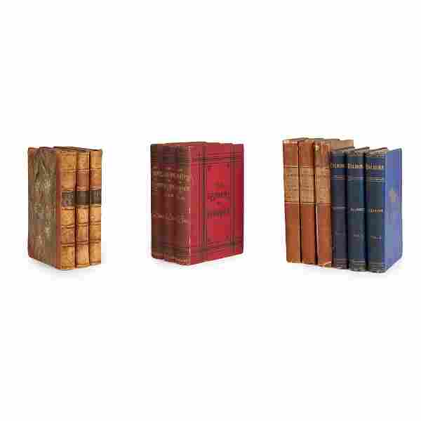 3 volume novels -  4 sets, comprising