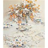 167 ETHEL WALKER SCOTTISH B1941 LILIES AND LACE
