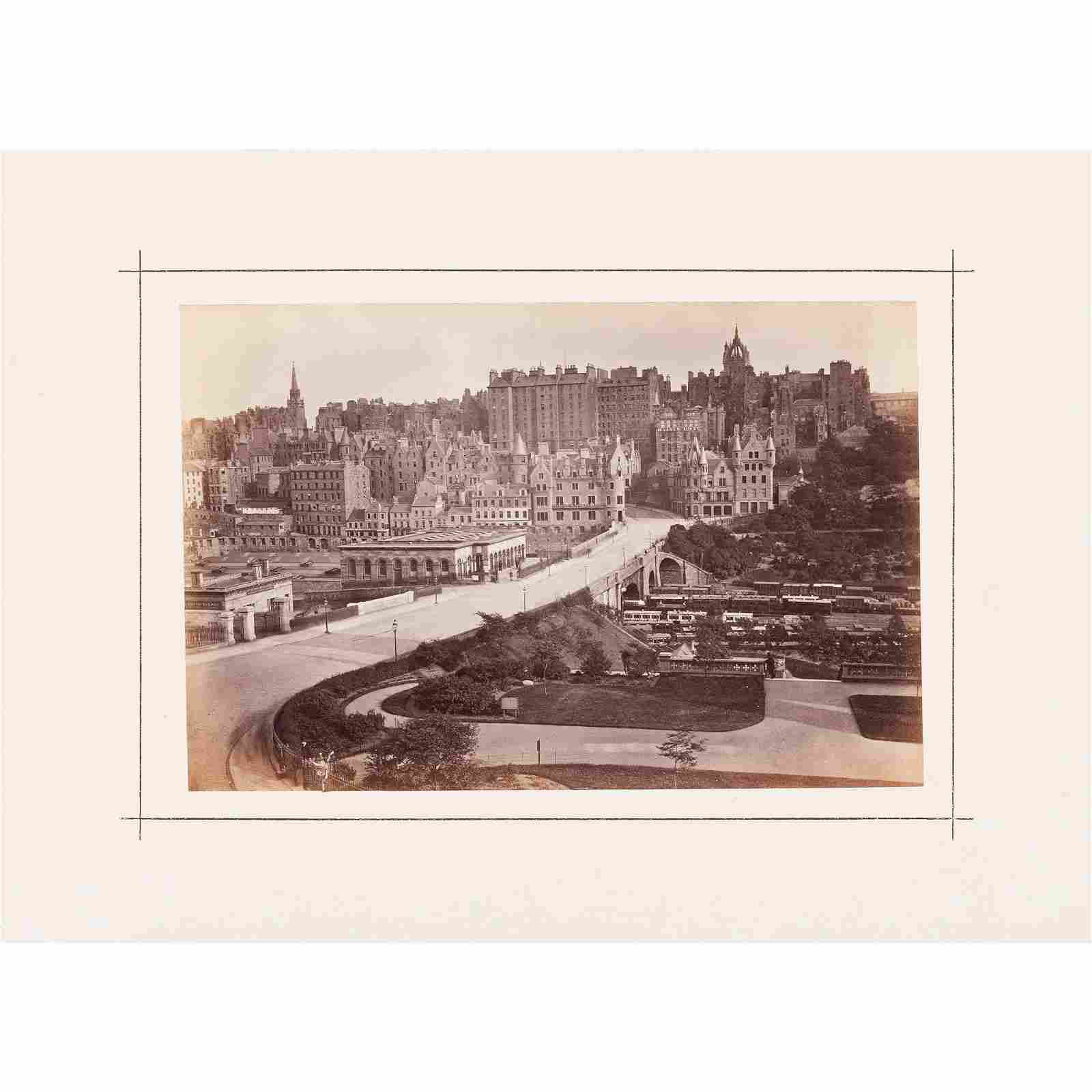2 volumes of photographs of Edinburgh Ballantyne, R.M.