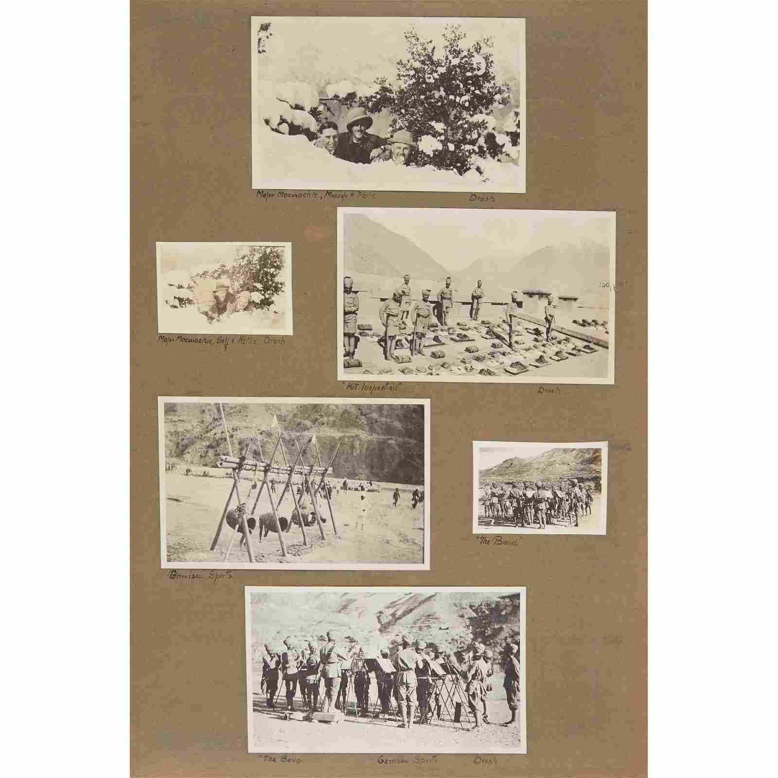 India pre 1947 (now Pakistan): photographs 1915 - 1918