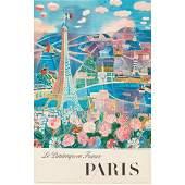 AFTER RAOUL DUFY (1877-1953) PARIS lithograph, c.1965
