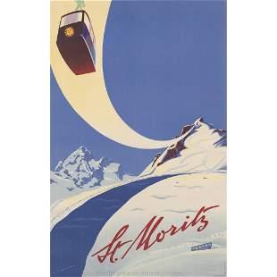 Martin Peikert (1901-1975) St. Moritz