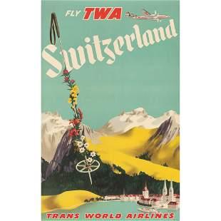 Anonymous Fly TWA Switzerland