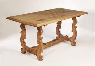 Sir Robert Lorimer (1864-1929) An oak centre table