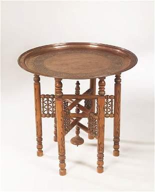 A Keswick School of Industrial Art copper tray on