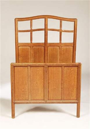 Gordon Russell (1892-1980) A pair of 'Lygon' oak s