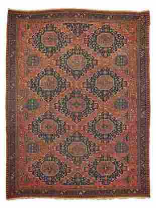 CAUCASIAN SOUMAC CARPET LATE 19TH/EARLY 20TH CENTURY