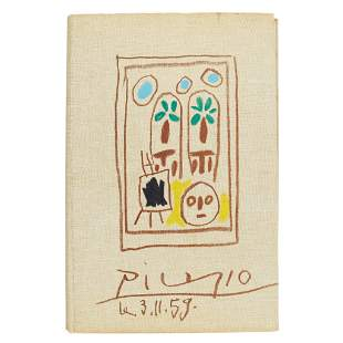 Picasso, Pablo - Picasso's Sketchbook A Limited Edition