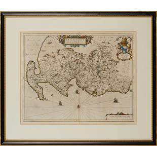 Blaeu, Jan A collection of maps