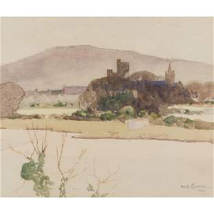 WILLIAM HANNA CLARKE (SCOTTISH 1882-1924) KIRKCUDBRIGHT