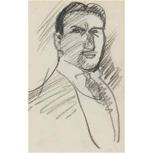 § JOHN DUNCAN FERGUSSON R.B.A. (SCOTTISH 1874-1961)