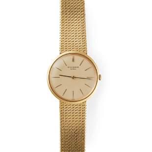 Patek Philippe: a gentleman's gold wrist watch
