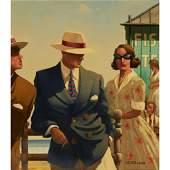 § ◆ JACK VETTRIANO (SCOTTISH 1951-) RITUAL OF