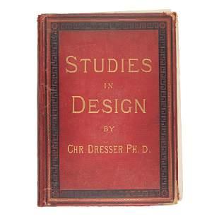 CHRISTOPHER DRESSER (1834-1904) STUDIES IN DESIGN
