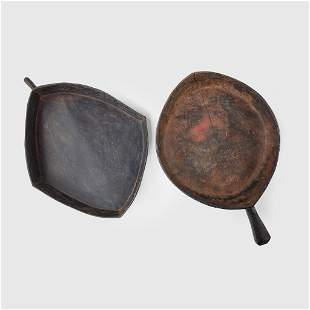 PAIR OF FOOD BOWLS PAPA NEW GUINEA