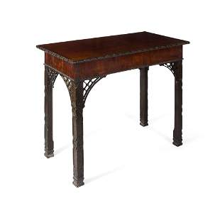 EARLY GEORGE III 'CHINESE CHIPPENDALE' SIDE TABLE 18TH