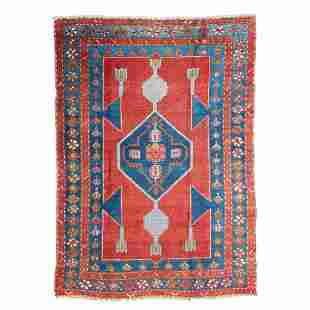 KAZAK RUG SOUTH CAUCASUS, LATE 19TH/EARLY 20TH CENTURY
