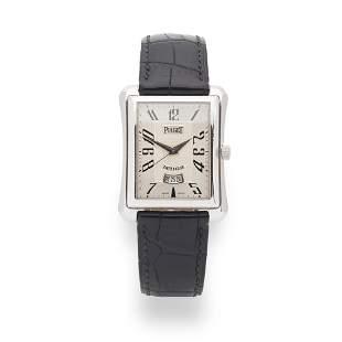 Piaget: a gentleman's white gold watch
