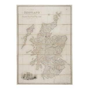 Carrington, F.A. & G.W. Carrington A Map of Scotland
