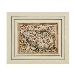 China - Mercator and Hondius 2 maps, comprising