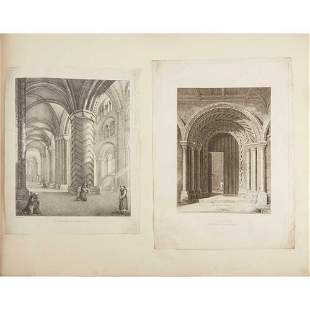 Durham, Bambrough Castle, &c. original drawings,