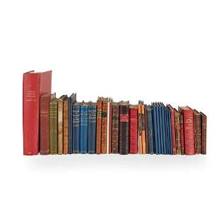 Jacobite and Emigration 33 volumes, including
