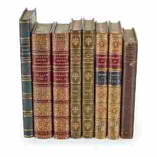 Scottish Highlands 7 volumes, fine bindings, comprising