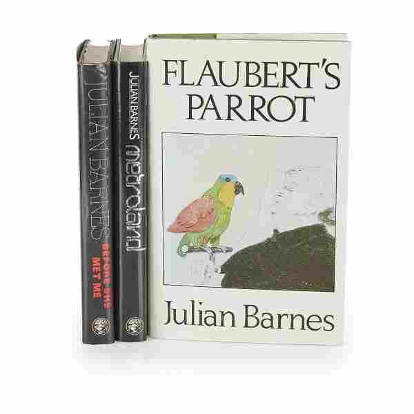 Barnes, Julian Metroland; Flaubert's Parrot; Before
