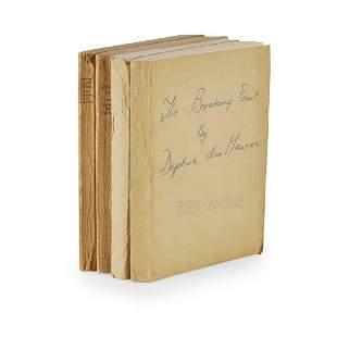 Du Maurier, Daphne 4 Uncorrected Proofs, comprising