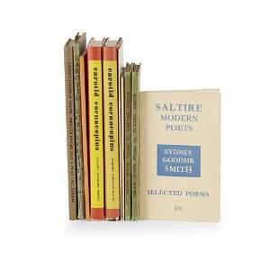 Goodsir Smith, Sydney 10 signed volumes, comprising