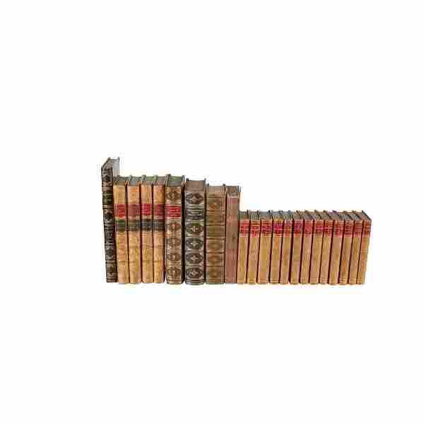 Scott, Thackeray, Goldsmith & others 96 volumes,