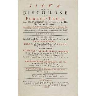 Evelyn, John Silva: or, A Discourse of Forest-Trees