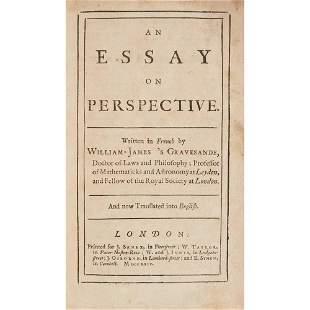 Gravesande, Willem Jakob's An Essay on Perspective