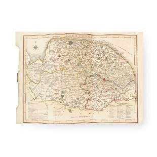 [Chambers, John] A General History of the County of