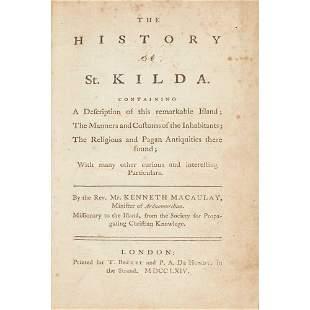 St Kilda: Macaulay, Kenneth A Voyage to, and History