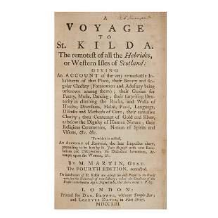 St Kilda: Martin, Martin A Voyage to St. Kilda