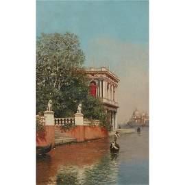 J. WARREN SHEPPARD (BRITISH 1882-1943) VENICE