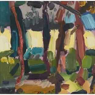 § SHONA BARR (SCOTTISH 1965-) DISTANT FIELDS, 1990