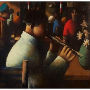 § STEPHEN MANGAN (SCOTTISH 1964-) THE PLAYER