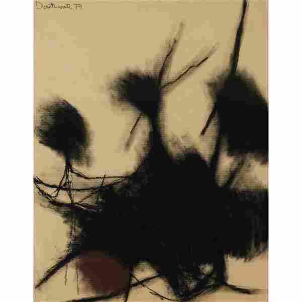 § PATRICIA DOUTHWAITE (SCOTTISH 1939-2002) UNTITLED