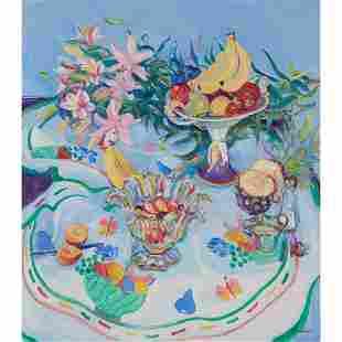 § JOSEPHINE GRAHAM (SCOTTISH circa 1930-) FRUIT SALAD