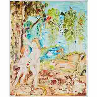 § GENIEVE FIGGIS (IRISH 1972-) ADAM AND EVE - 2019