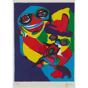 § KAREL APPEL (DUTCH 1921-2006) PERSONNAGE - 1971