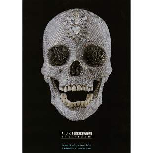 § DAMIEN HIRST (BRITISH 1965-) 'FOR THE LOVE OF GOD'