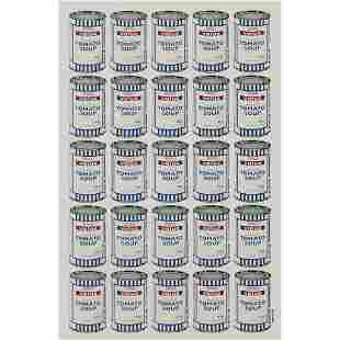 § BANKSY (BRITISH 1974-) SOUP CANS POSTER - 2006