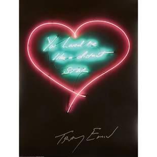 § TRACEY EMIN C.B.E., R.A. (BRITISH 1963-) YOU LOVED